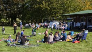 The Teddy Bear Picnic Party at Dolwen Field, Llanwrtyd.