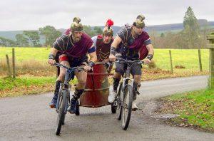 The World Mountain Bike Chariot Racing championships