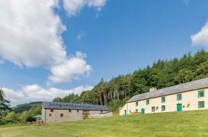 Gwedd y Glyn and Dinas Farmhouse, Llanwrtyd