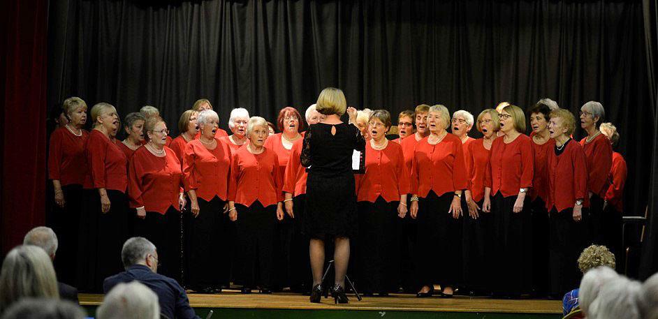 Llanwrtyd Eisteddfod Ladies Choir