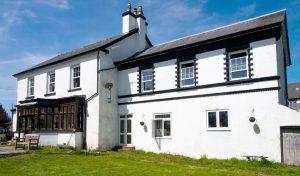 Llanwrtyd Hall hotel in Llanwrtyd Wells, mid-Wales