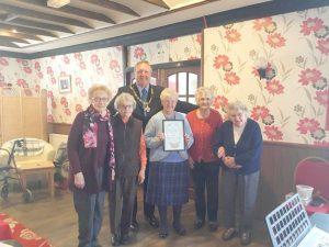 Members of Llanwrtyd Thursday Club Committee 2017