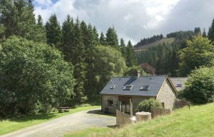 Trallwm Forest Cottages, Llanwrtyd
