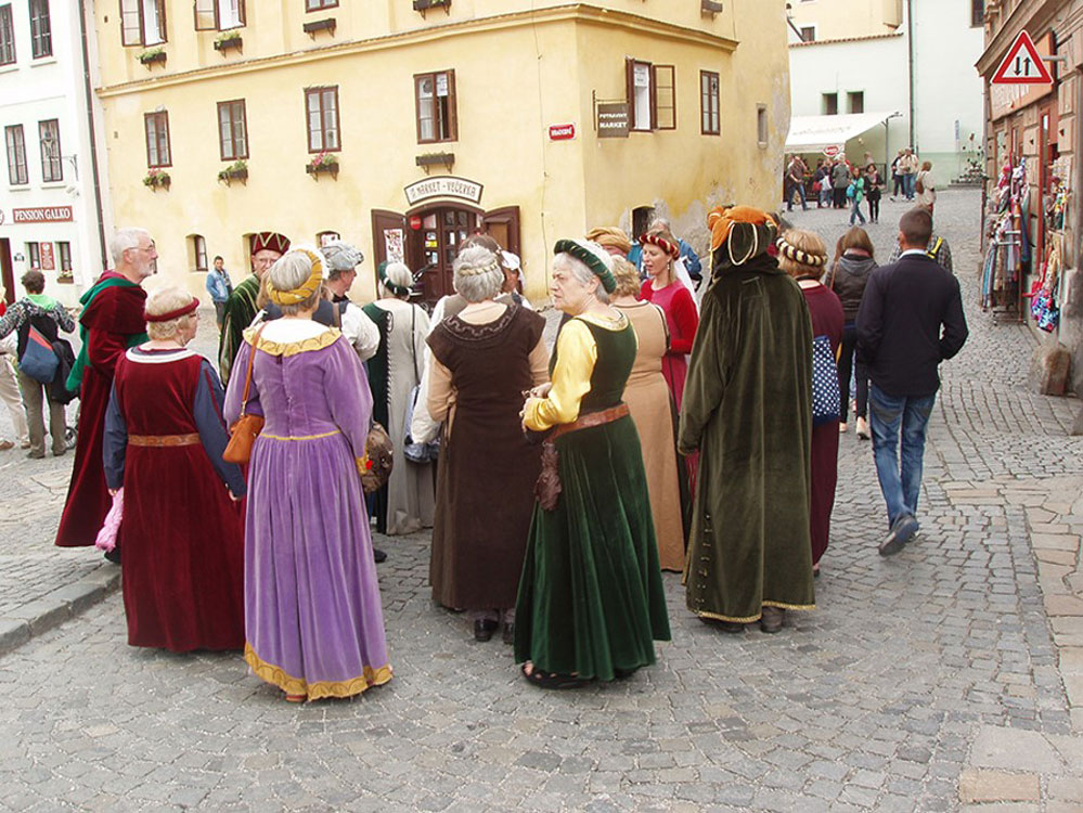 Llanwrtyd Wells Twinning Association in Krumlov, Czech Republic