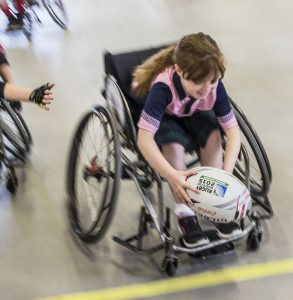 Seven-aside wheelchair rugby in the World Alternative Games