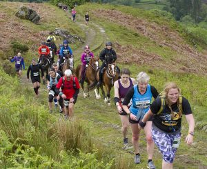 runners, horse race, trail race, man v horse, alternative sport
