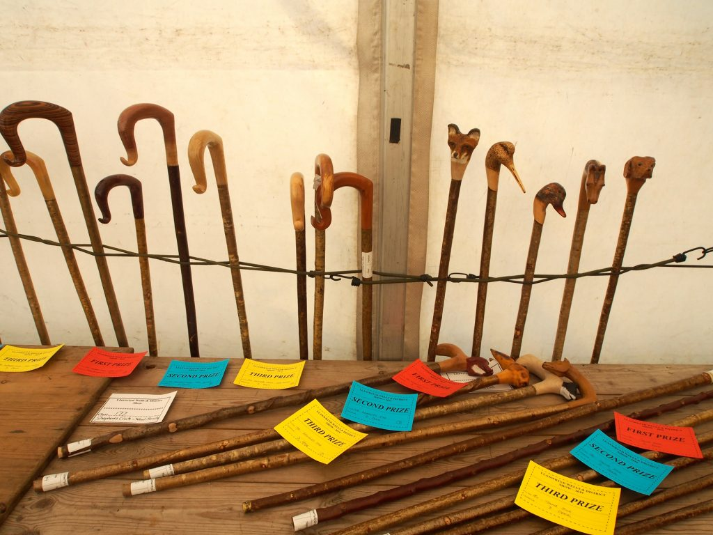 There is a Shepherds Crook section at Llanwrtd Wells show.