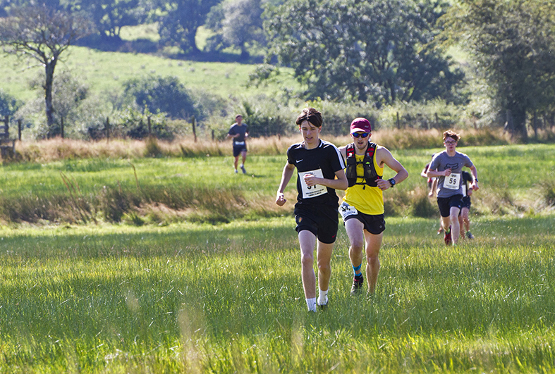 Runners complete 8 miles in the Llanwrtyd Wells Bog Triathlon