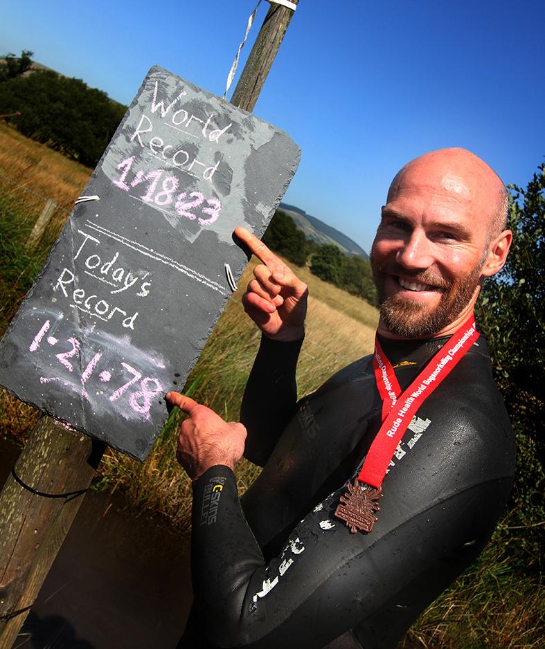 The World Champion Bog Snorkeller