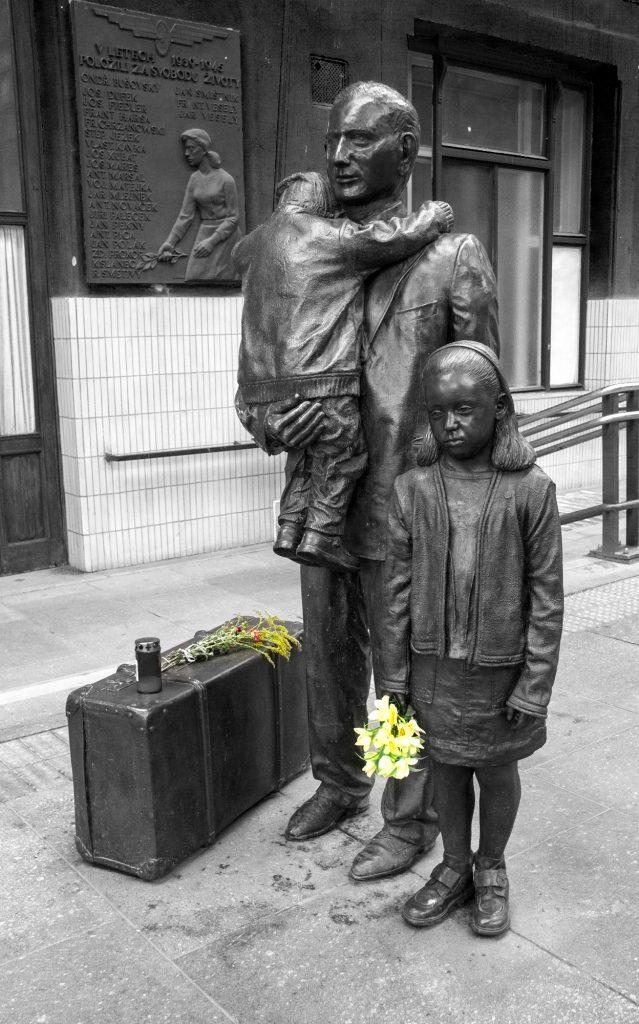 To show the Nicolas Winton memorial at Prague Station, Czech Republic
