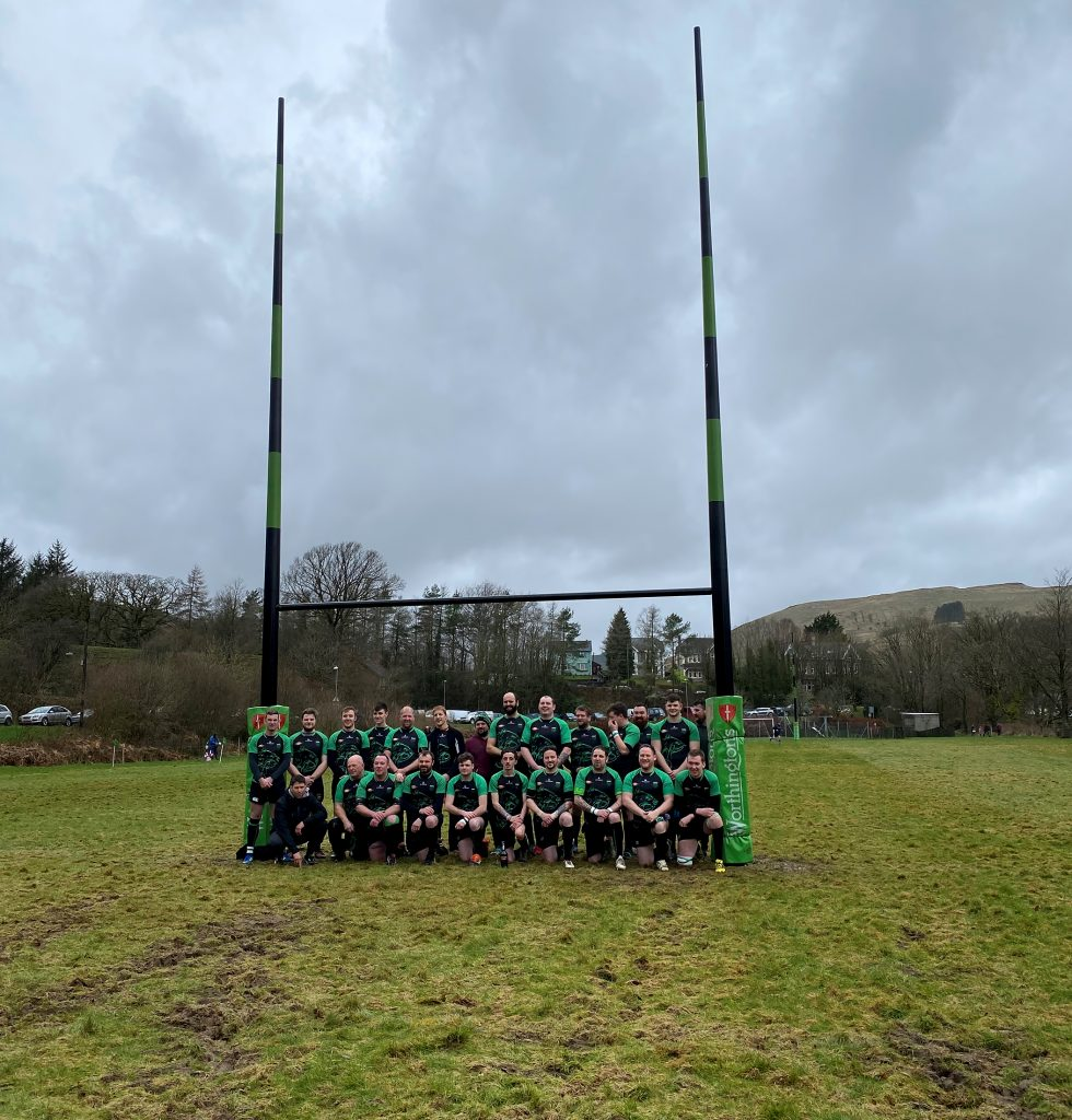 Group picture of Llanwrtyd Bears Rugby Club