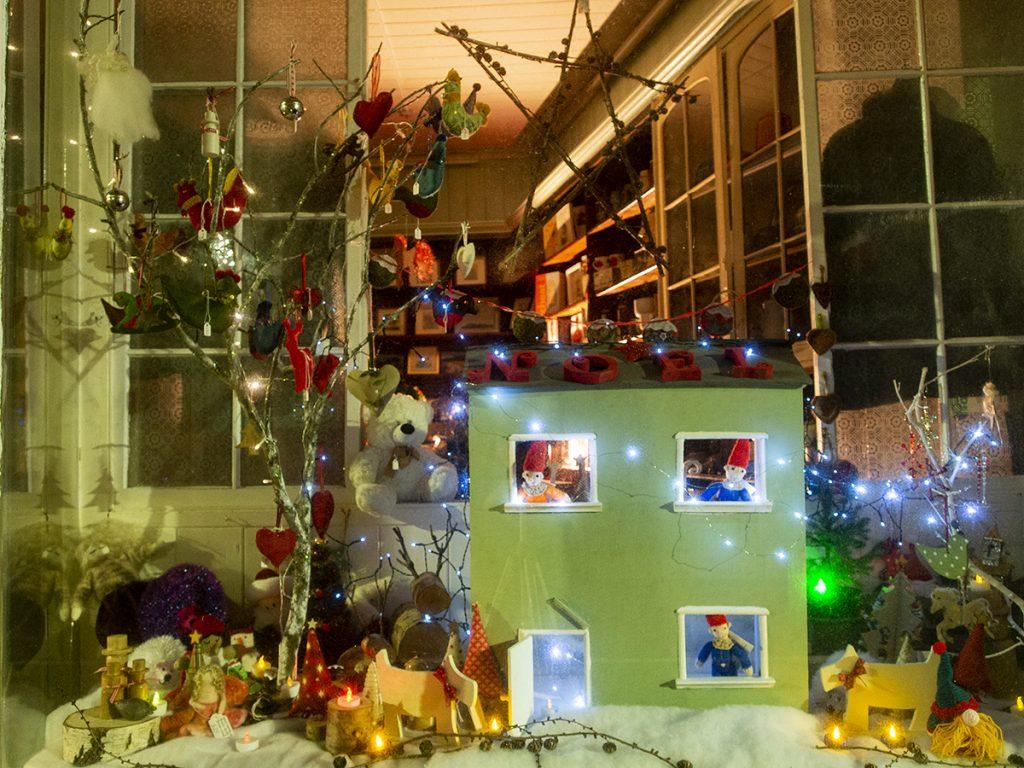 Shop Window in Llanwrtyd.