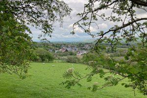 Establishing picture of Llanwrtyd Wells