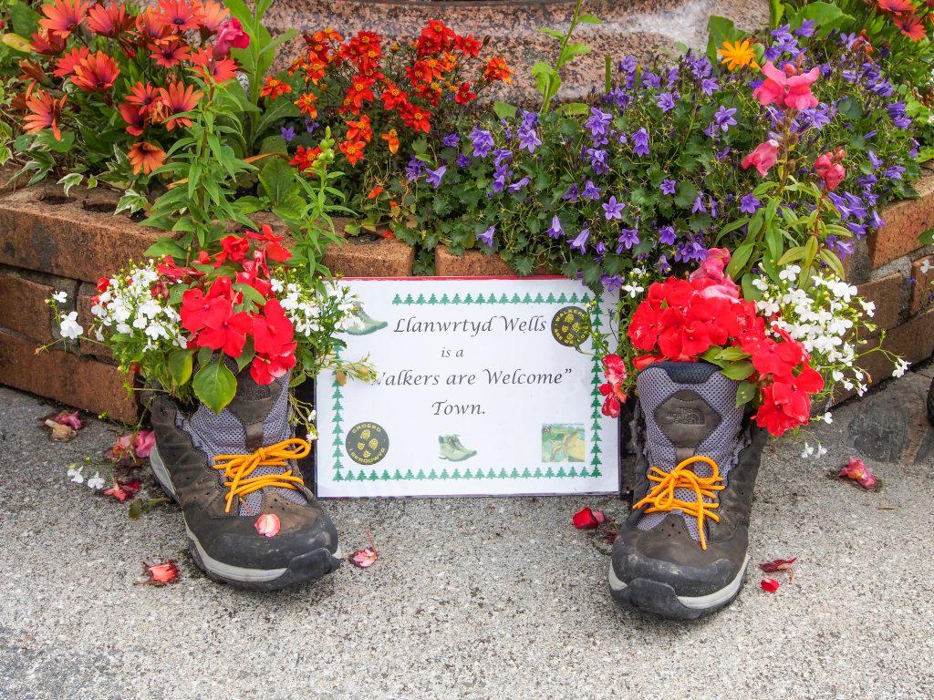 Wales in Bloom display, Llanwrtyd Wells